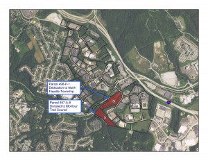 Map RIDC Conveyance of Two Properties in North Fayette Township