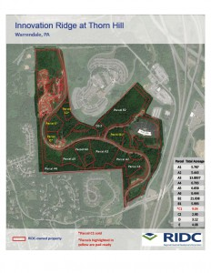 Innovation Ridge Site Plan